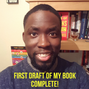 #62 Completed the first draft of my book!