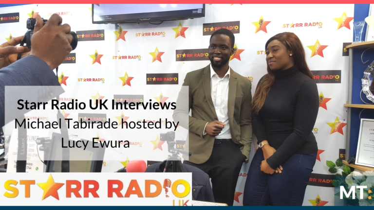 INTERVIEW AT STARR RADIO UK with Lucy Ewuraa Dadson