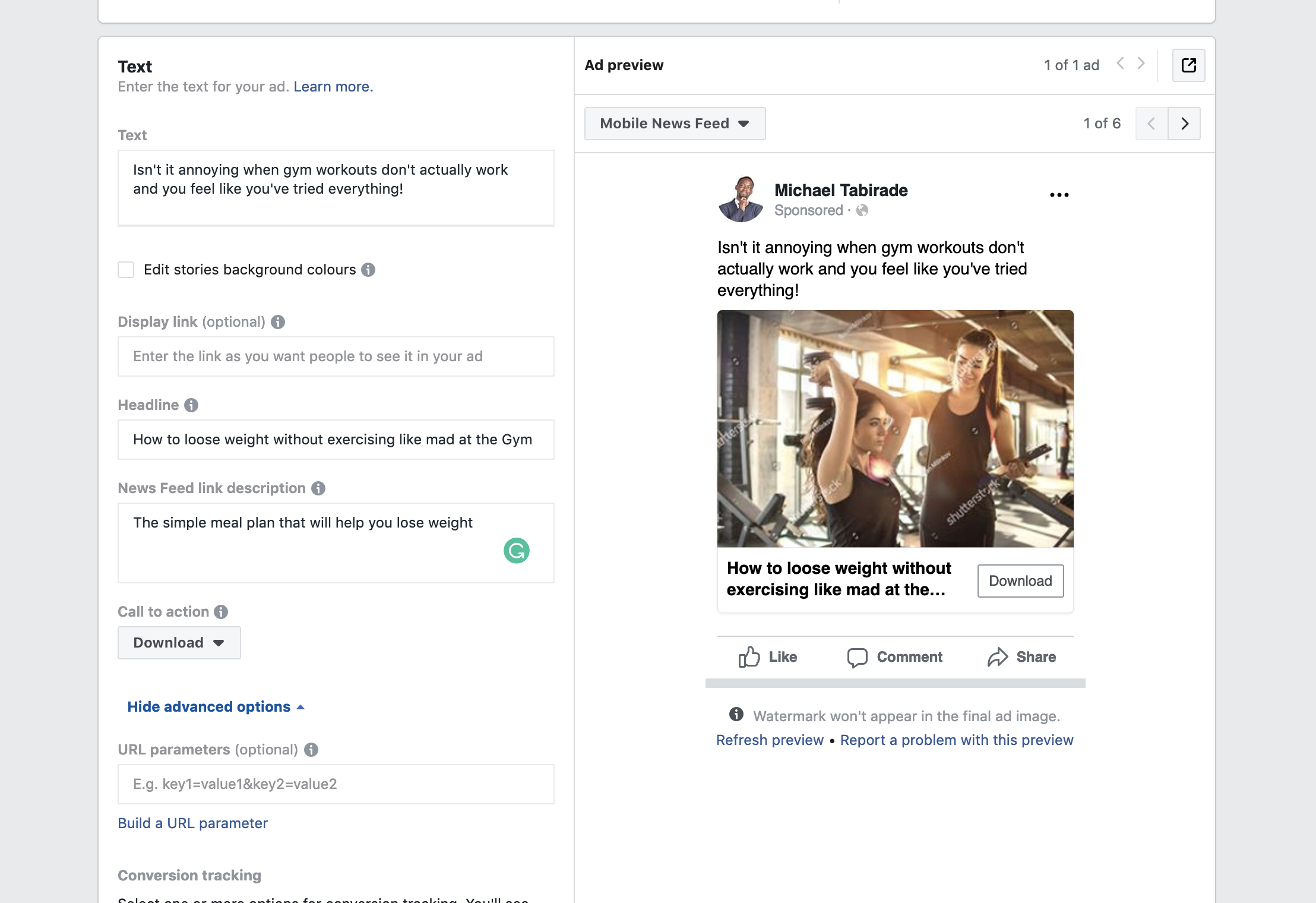 Facebook-new-lead-form