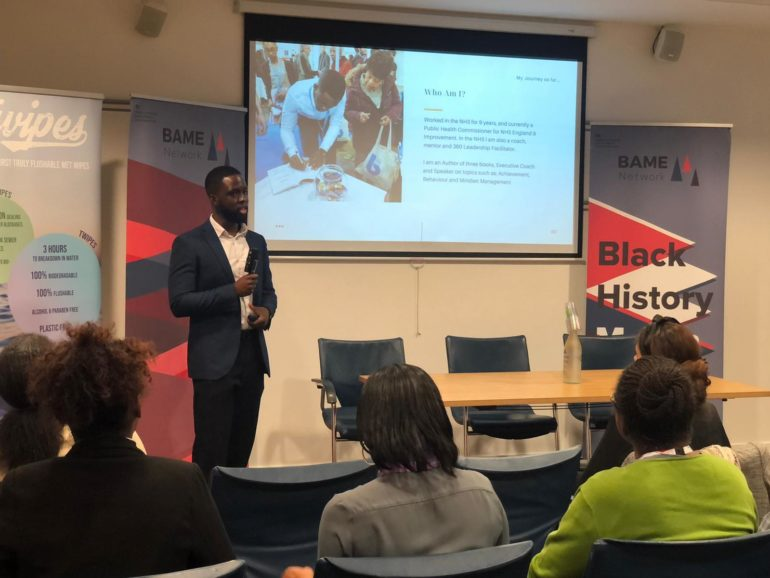 Talking about who i am ministry of housing bame talk